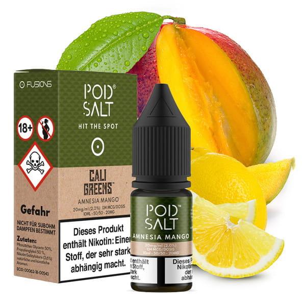 Pod Salt - Amnesia Mango 20mg Nikotinsalz