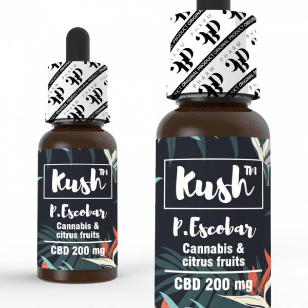 Kush Experience CBD Liquid - P. Escobar