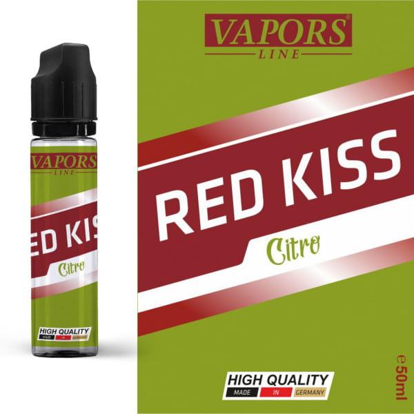 Vapors Line shortfill Liquid Red Kiss Citro