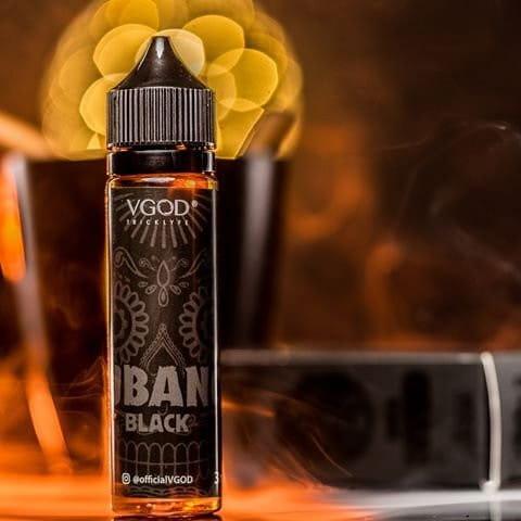 Cubani black Liquid vgod