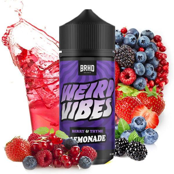 Weird Vipes von BAREHEAD - Berry & Thyme Aroma