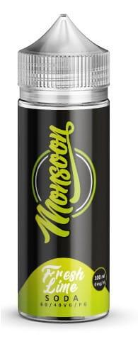Monsoon Liquid - Fresh Lime Soda 100ml