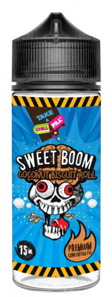 Chill Pill Aroma - Sweet Boom Coconut Biscuit Roll