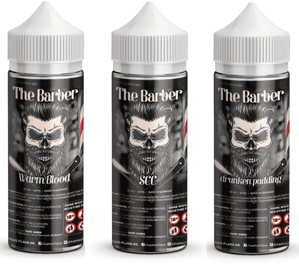 The Barber Liquid - drunken Pudding - Warm Blood - 50ml