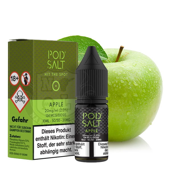 Pod Salt - Apple 20mg Nikotinsalz