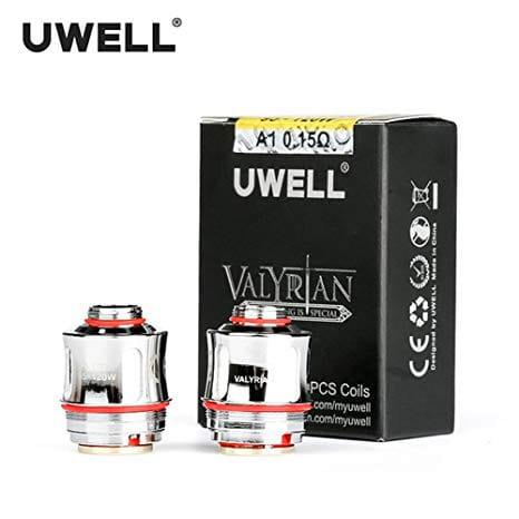 Uwell Valyrian Verdampferkopf - Coil 0,15 Ohm