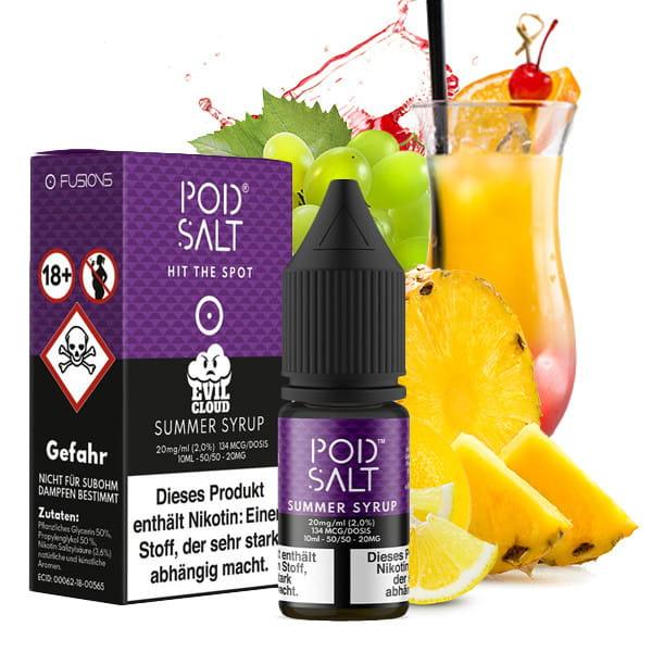 Pod Salt - Summer Syrup 20mg Nikotinsalz
