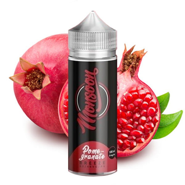 Monsoon Liquid - Pomegranate Breeze