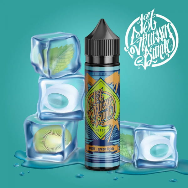 187 Strassenbande - #006 - green lights - 50ml Shortfill