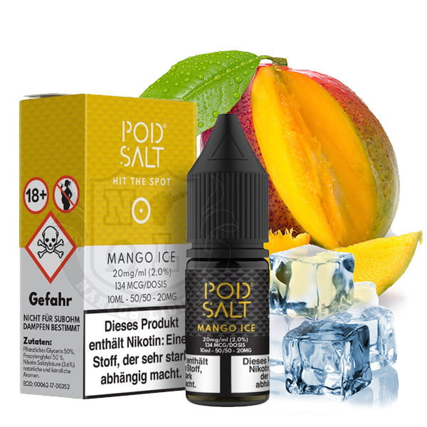 Pod Salt - Mango Ice 20mg Nikotinsalz